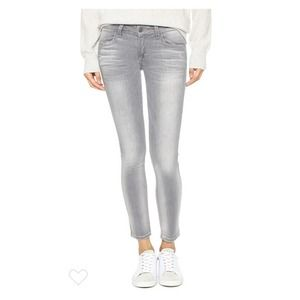 SIWY Hannah Jeans in One Love Gray Grey skinny 27
